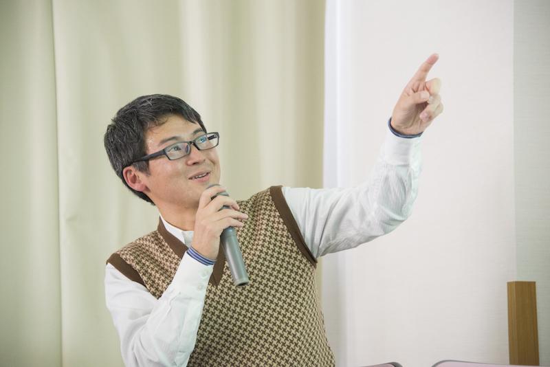 第2部 アート作品を紹介するということ:講師の山中俊広さん