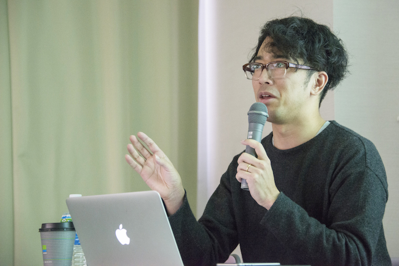 第3部 現代アートの著作権のポイント:講師の川上大雅さん
